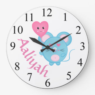 Mouse Large Clock