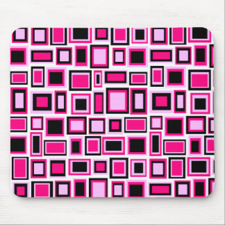 Mouse mat abstract reason squares