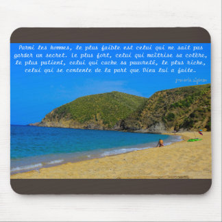 mouse mat Algerian proverb Mouse Pad