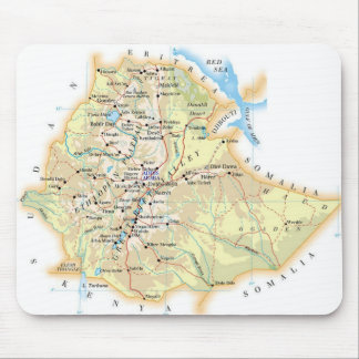 "Mouse mat ""Chart of Ethiopia "" Mouse Pad"