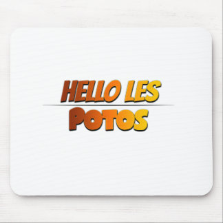 Mouse mat Hello potos!