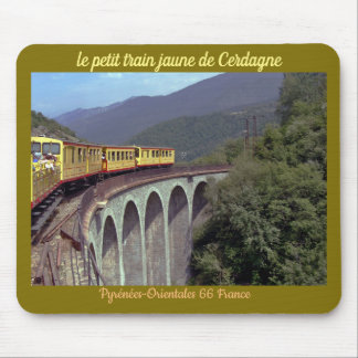 "mouse mat ""small yellow train"" 66 France"