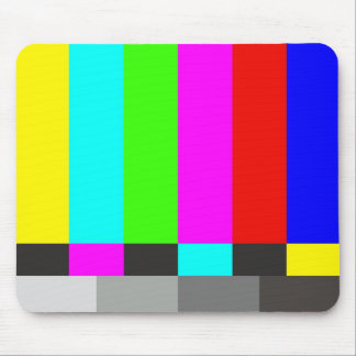 Mouse mat the Test card Click for Graph Mouse Pad