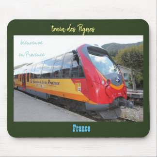"mouse mat ""train of the Pine cones"" Provence"