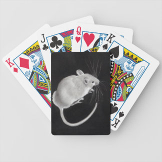 Mouse, Mice: Realistic Pencil Drawing: Art Bicycle Playing Cards