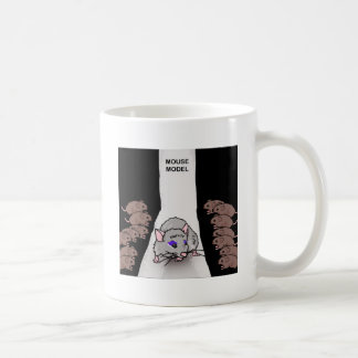 Mouse Model Coffee Mug