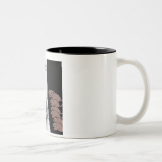 Mouse Model Two-Tone Coffee Mug