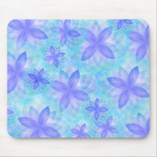 Mouse pad abstract lotus flower
