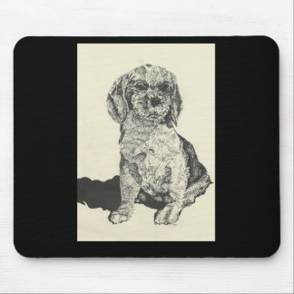 Mouse Pad Cocker Spaniel Pen & Ink