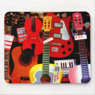 Mouse Pad, Coloful Music Instruments Mouse Pad