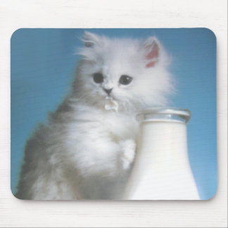 Mouse pad cute kitty