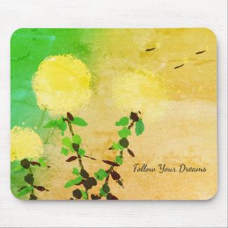 Mouse Pad_Dandelion's _Follow Dreams_Motivational_ Mouse Pad