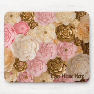 Mouse Pad Floral Design