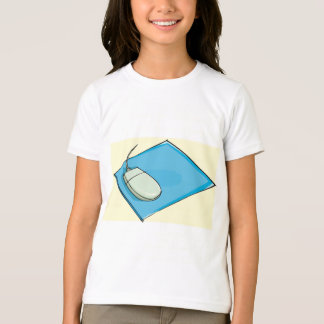Mouse Pad Girls T-Shirt