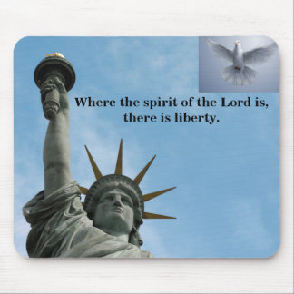 Mouse Pad Liberty Spirit Dove