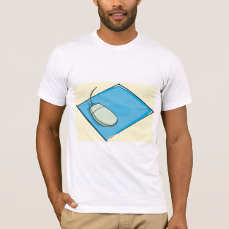 Mouse Pad Mens T-Shirt