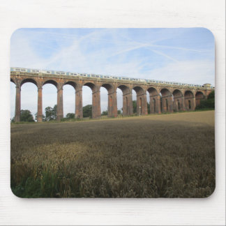 Mouse Pad/Mouse Mat: Ouse Valley Viaduct + Train Mouse Pad