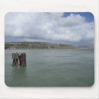 Mouse Pad/Mouse Mat with Coastal (Folkestone) Pic. Mouse Pad