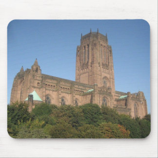 Mouse Pad / Mouse Mat With Liverpool Cathedral Pic