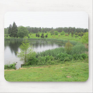 Mouse Pad / Mouse Mat With Pretty Outdoor scene