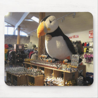 Mouse Pad / Mouse Mat With Puffin Picture