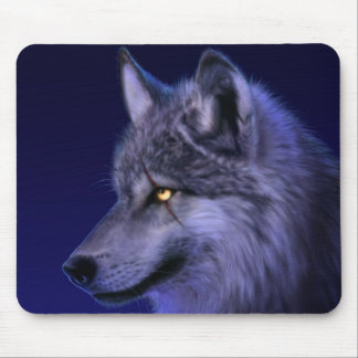 Mouse Pad: Mystic Wolf Mouse Pad