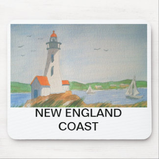 MOUSE PAD - NEW ENGLAND COAST