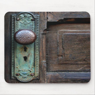 Mouse pad - 'Old Door Knob' by Joanne Coyle