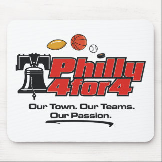 Mouse Pad - Philly 4 for 4