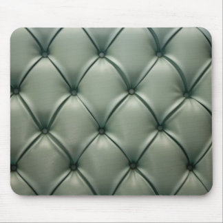 Mouse Pad - retro green leather pattern