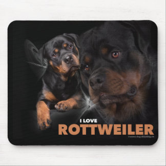Mouse Pad Rottweiler