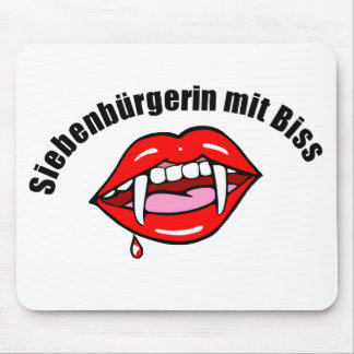 """Mouse PAD """"seven-citizen with bite """""""