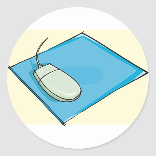 Mouse Pad Stickers