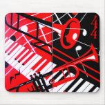 Mouse pad, Trombone/Trumpet Mouse Pad