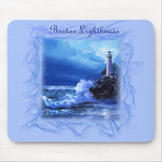 Mouse-pad with Boston Lighthouse Mouse Pad