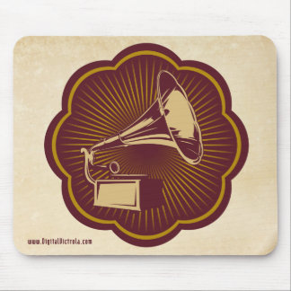 Mouse Pad with Digital Victrola