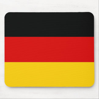 Mouse pad with Flag of Germany