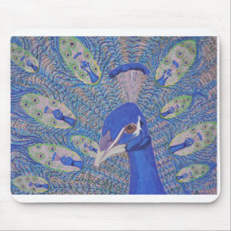 mouse pad with peacock