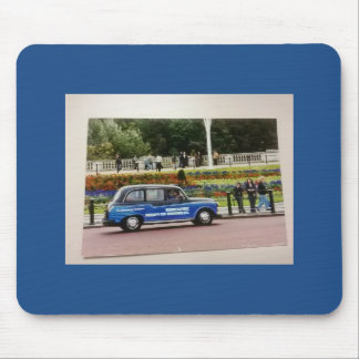 Mouse Pad with Photo of Continental Airlines Ad