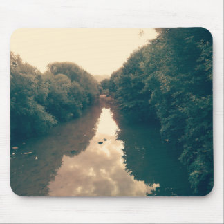 Mouse pad with river photo