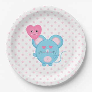 Mouse Paper Plate