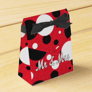 Mouse Party Wedding Mr & Mrs Shimmer Favor Boxes