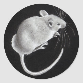 MOUSE: PENCIL ART: STICKERS