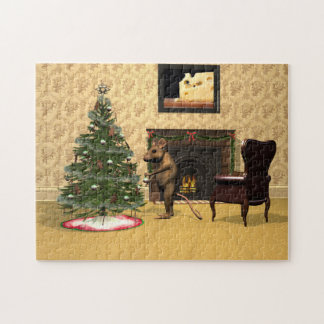 Mouse's Christmas Jigsaw Puzzle
