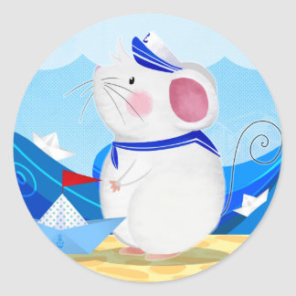 Mouse Sailor sticker