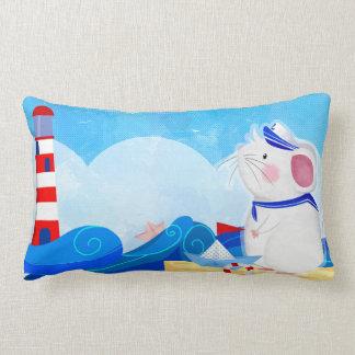 Mouse Sailor thrown pillow