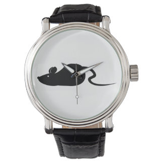 Mouse Silhouette Watch