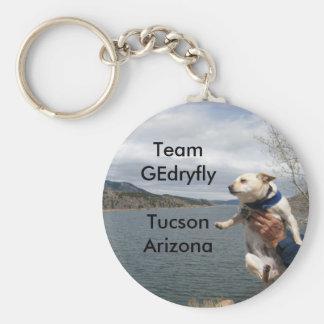 mouse, Team GEdryflyTucson Arizona Keychain