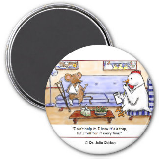 Mouse Trap 3 Inch Round Magnet