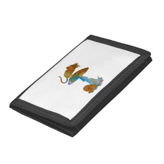 Mouse Trifold Wallet